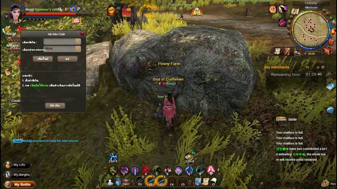 Age of Wushu Private – How use Multi Clients 3x – How us Auto Farming Bot