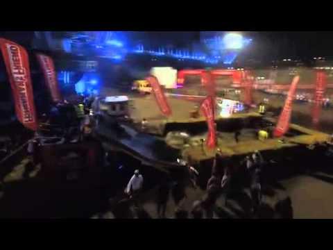 Ferropolis 2015: German strongman event held in former mine
