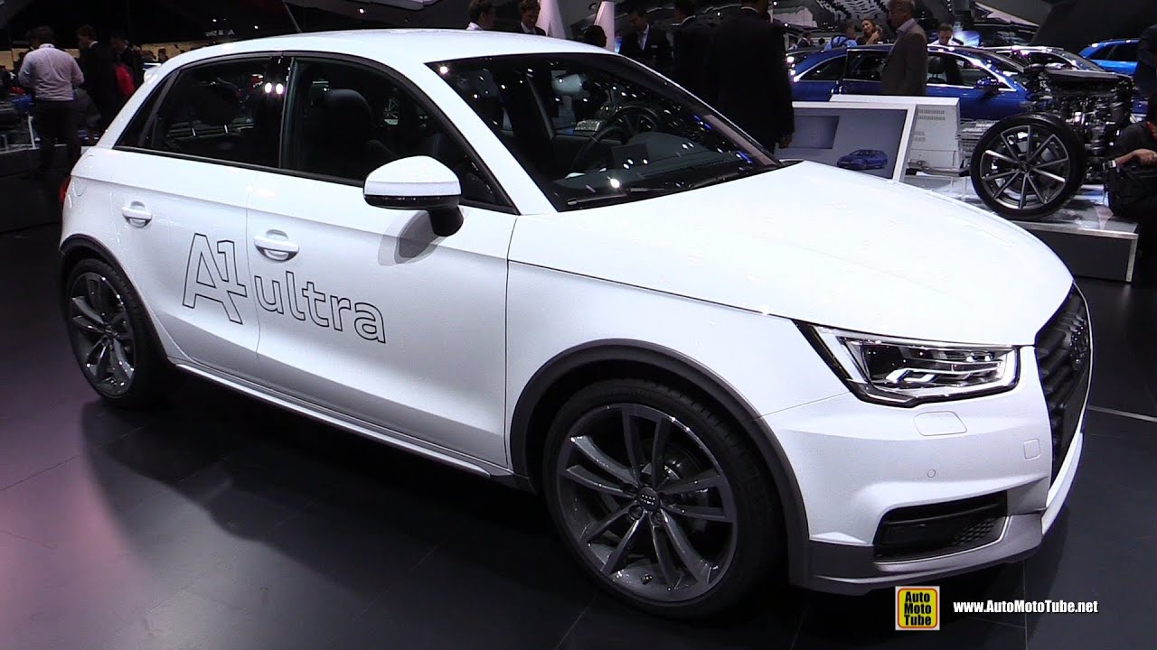 2016 audi a1 1 0t ultra exterior and interior walkaround 2015 frankfurt motor show youtube. Black Bedroom Furniture Sets. Home Design Ideas
