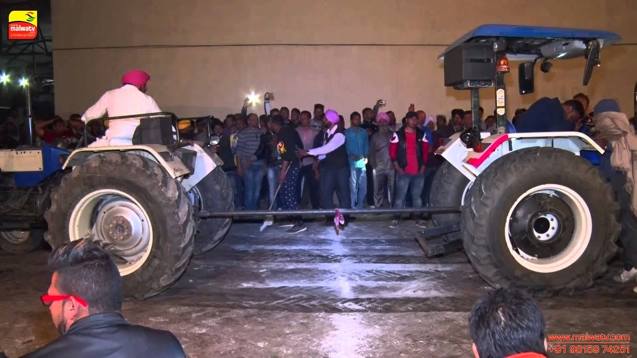 DHALIWAL KADIAN (Jalandhar) Tractor Tow Chain Competition || HD ||