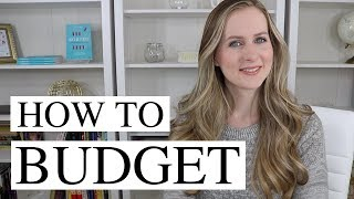 Budgeting 101 (for people who can't stick to a budget!)
