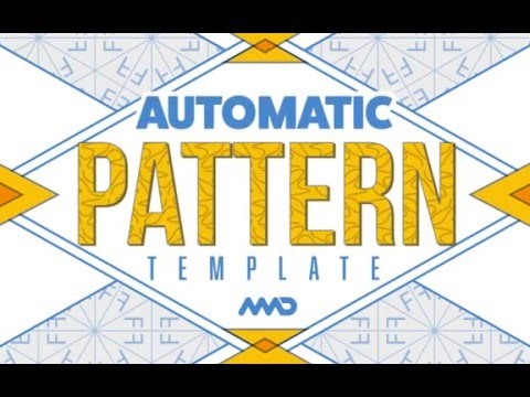 Automatic Pattern Template - New Media Design