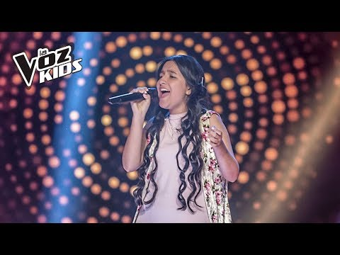Nana canta La Invitación - Audiciones | La Voz Kids Colombia 2018