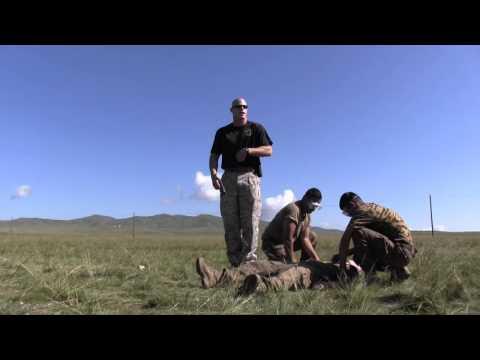 Marine Taser Training