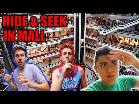 HIDE AND SEEK TAG IN MALL! ft MoreJStu