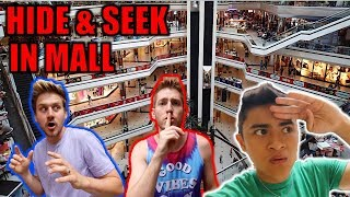 HIDE AND SEEK TAG IN MALL! (ft. MoreJStu)