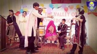 funny Tablo By The students of TVOKS Annual Day 2017
