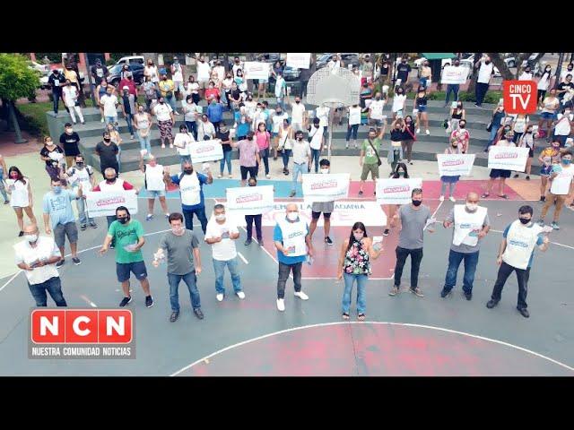 CINCO TV - Se realizó en Tigre la campaña de difusión para el Plan de Vacunación Provincial