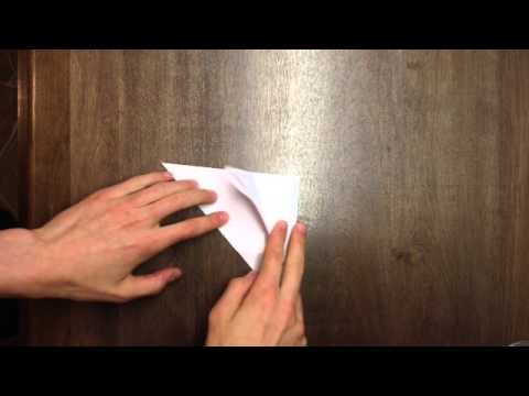 Faire un rat en origami pliage facile et rapide youtube - Pliage serviette facile et rapide ...
