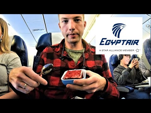 EGYPTAIR FLIGHT REVIEW | Economy Class Cairo - London | Flight MS777