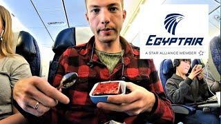 EGYPTAIR FLIGHT REVIEW   Economy Class Cairo - London