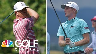 Breaking Down The Recent Success Of Hudson Swafford And Will Zalatoris   Golf Central   Golf Channel