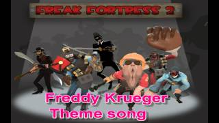 TF2 Freak Fortress - Freddy Krueger Theme song