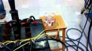 Synchroniser les tensions entre une machine synchrone et une machine asynchrone