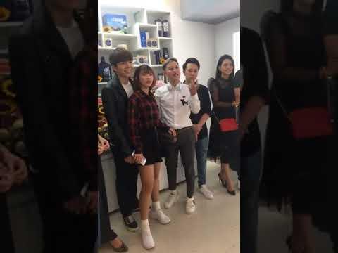 Kelvin Khánh & Khởi My @ Lễ khai trương của cô Cát Phượng (15/06/2018)
