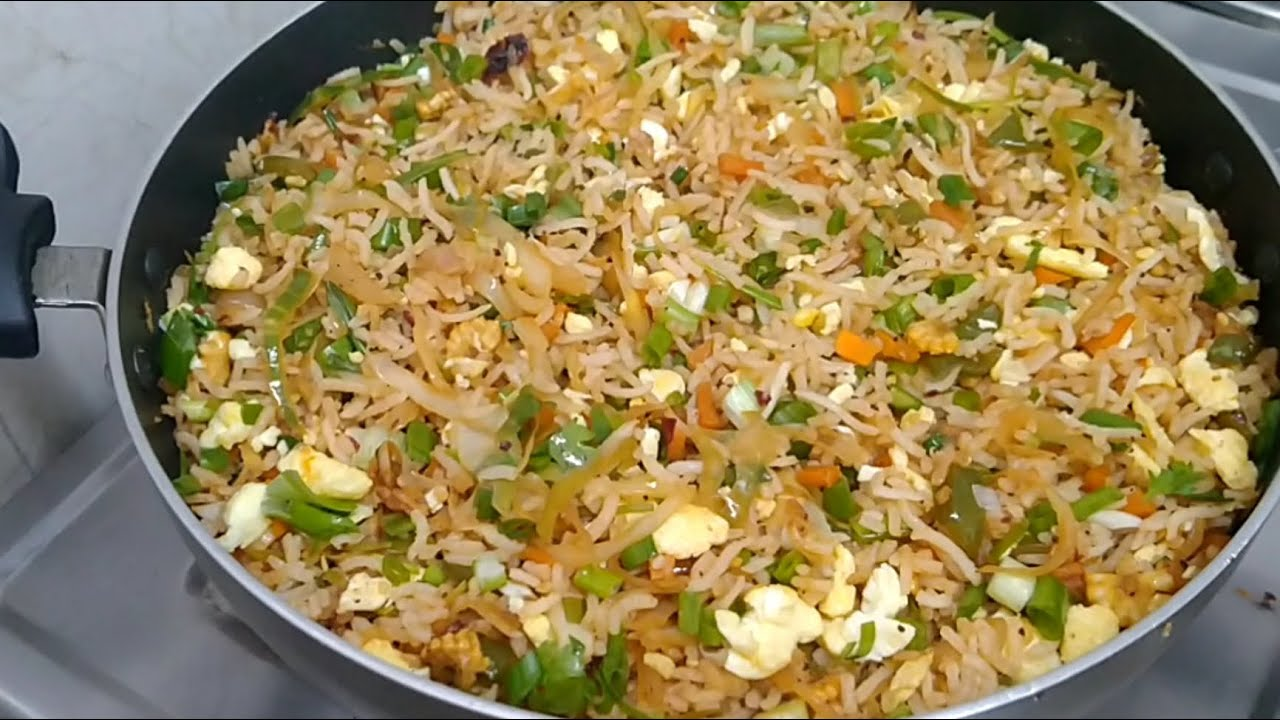 Egg Fried Rice Recipe | Easiest Way of making Fried Rice