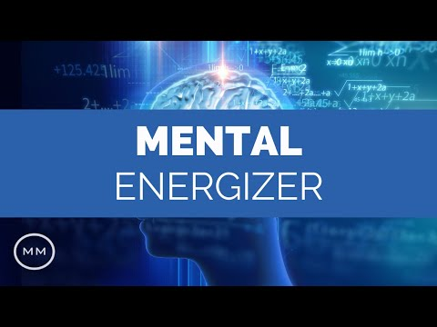 Mental Energizer - 40 Hz Gamma Waves For Mind Stimulation - Monaural Beats - Focus Music