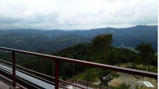 岐阜県瑞浪市のカフェー清涯荘 天空のテラスからの絶景!