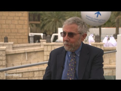 Krugman Says U.S. Recession Is 'Pretty Likely' in Next Two Years