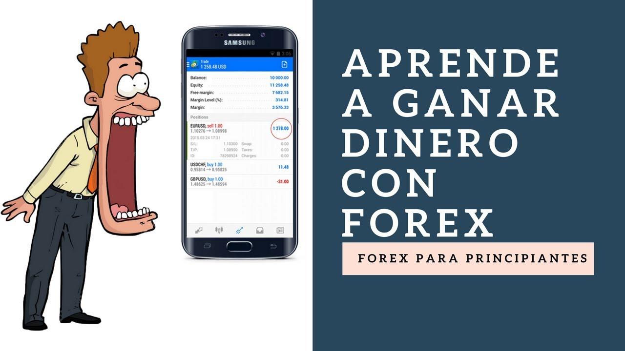 Forex para principiantes aprende a ganar dinero con forex