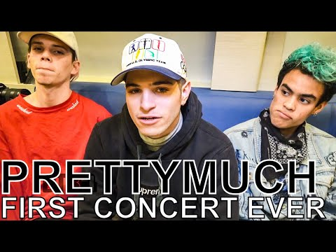 PRETTYMUCH - FIRST CONCERT EVER Ep. 96