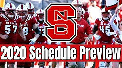 NC State College Football Schedule Preview and Early Prediction- All Sports Central