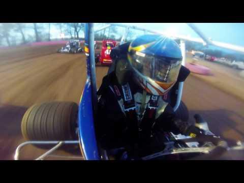D. Barlet Heat Race @ Linda's Speedway 4-28-17