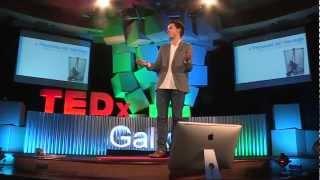 Comunicacion, emocion y sueños: Javier Cebreiros at TEDxGalicia