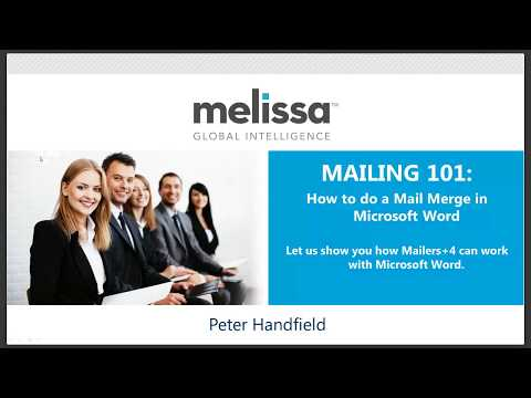 MAILING 101: How to do a Mail Merge in Microsoft Word with Postal Automation Software