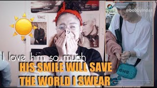 Download Video BOBBY - SWIM, FIREWORK, & TENDAE | MV REACTION (HE'S SO BEAUTIFUL!!) MP3 3GP MP4