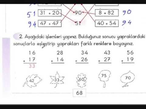 Necmi Demir 2 Sinif Matematik Eldeli Toplama Super Anlatim