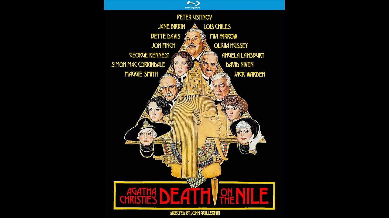 """Download Death on the Nile (1978) - """"Hercules Porridge the famous French sleuth!""""   High-Def Digest"""
