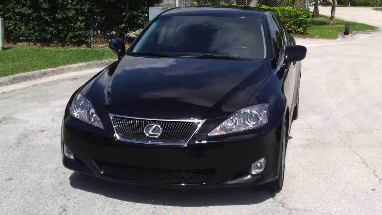 for sale 2007 lexus is250 awd with navigation southeast doovi. Black Bedroom Furniture Sets. Home Design Ideas