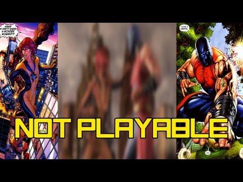 Atom Smasher & Giganta NOT Playable in Injustice: Gods Among Us