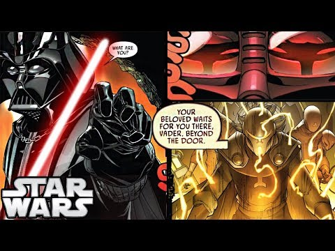 VADER LEARNS HOW TO BRING PADME BACK TO LIFE!!! CANON   Star Wars Theory Comics