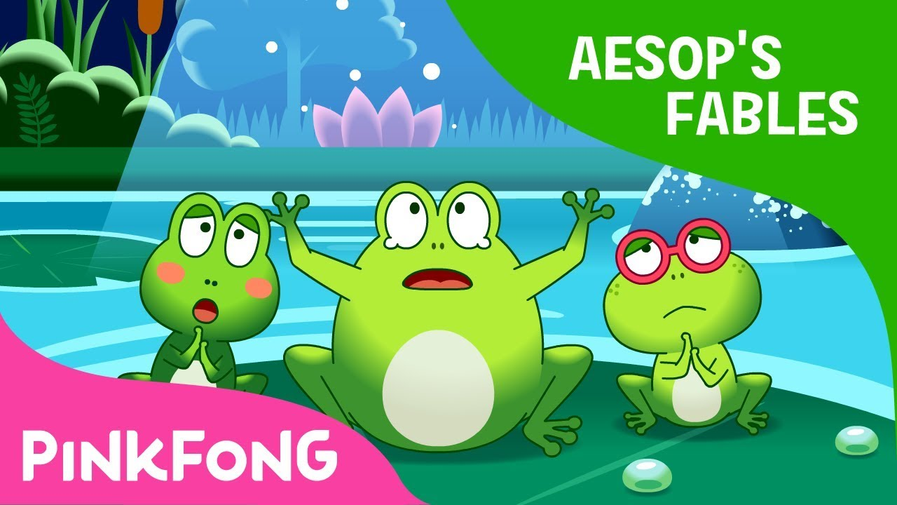 The Frogs Who Desired a King | Aesops Fables | Pinkfong Story Time for Children
