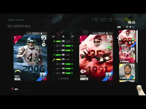 Madden 16 Ultimate Team :: We Snagged Legend 95 Lorenzo Neal ::-XBOX ONE Madden 16 Ultimate Team