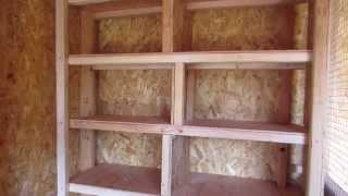 How To Build A Pigeon loft (part 4)