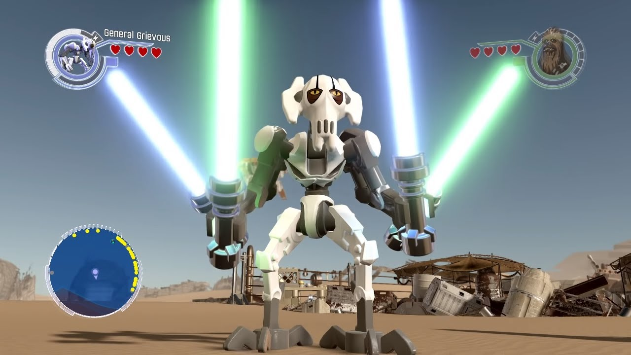 Lego Star Wars The Force Awakens General Grievous Free Roam