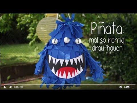 Diy Piñata Bastelanleitung
