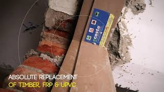 WPC Door Frame one time Investment Lifetime Guarantee | Termite Proof | Water Proof | Ecoste