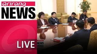 [live/arirang news] two koreas discussing inter-korean sports exchanges at border - 2018.06.18