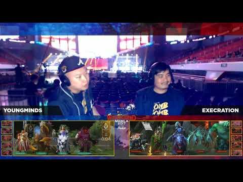 Execration vs Youngminds BO1 Manila Challange | AllStar Weekend Manila
