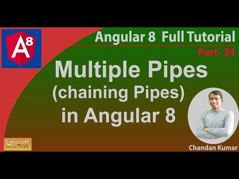 Multiple pipes (chaining Pipes) in Angular 8 | Angular 8 Tutorial in Hindi thumbnail