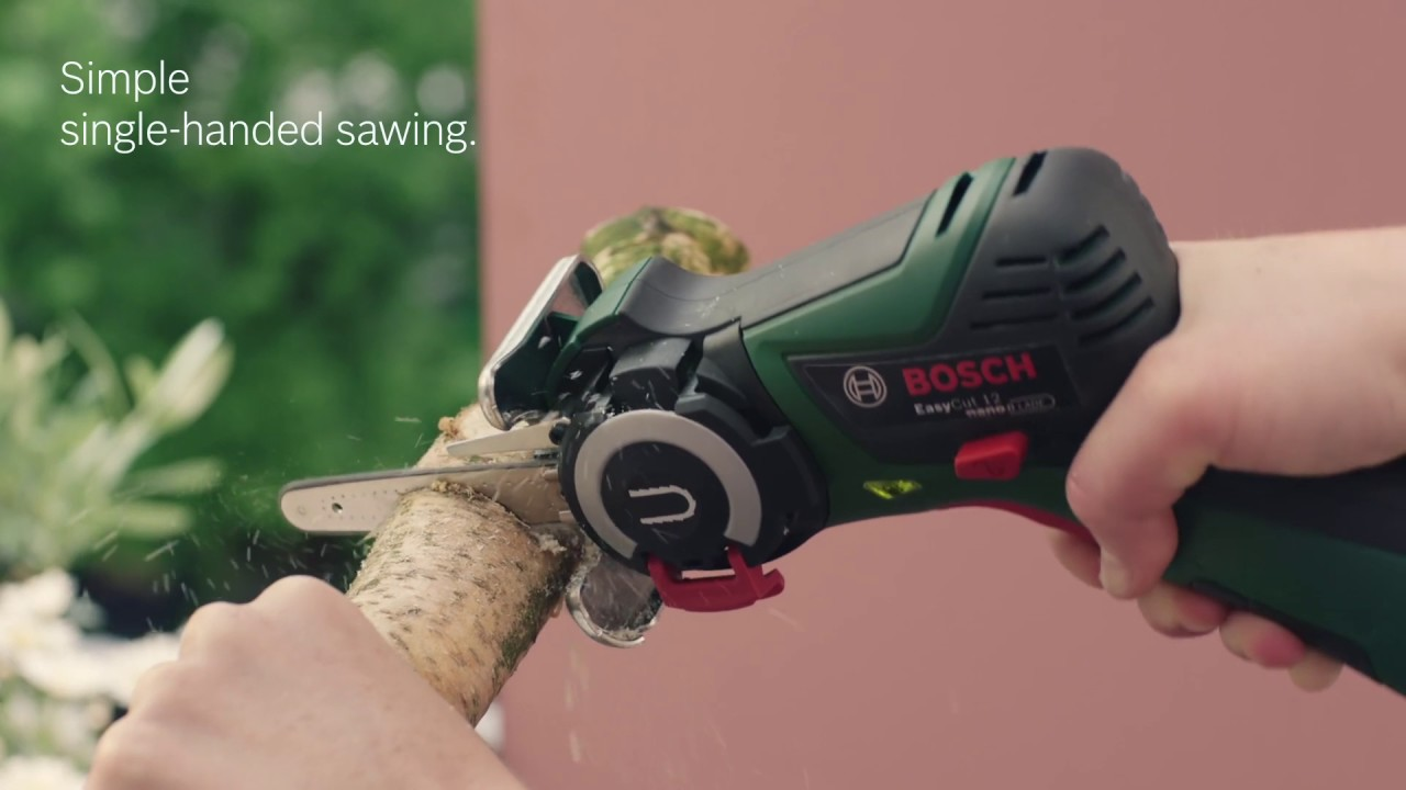 bosch easycut 12 - the world's first nanoblade - youtube