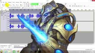 Tutorial: How to make a Zealot voice from starcraft
