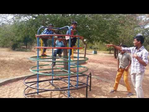 Hubli kids playing gadag zoo 1