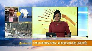Congo : plus de 180.000 déplacés par les inondations meurtrières [Morning Call]