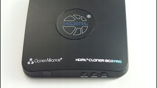 clonerAlliance Cloner Box Pro with 60fps VHS video capture review & test