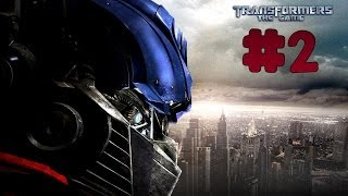 Transformers: The Game - Walkthrough - Part 2 - More Than Meets The Eye | Autobots (PC) [HD]